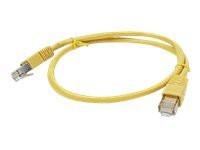 GEMBIRD PP12-1M/Y patchcord RJ45 cat.5e UTP 1m yellow