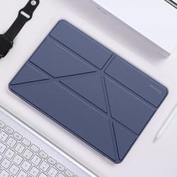 Husa Baseus din piele pentru iPad 2019 (10.2 inch) - Albastru