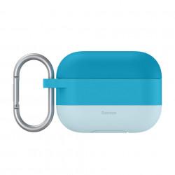 Husa pentru Apple Airpods PRO , Baseus, albastru