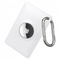 Husa pentru Apple Airtag SPIGEN AIR FIT WHITE
