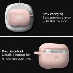 Husa protectoare Spigen Silicone Fit Apple Airpods Pro - roz