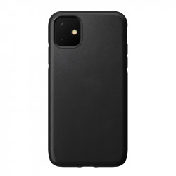 Husa telefon din piele Nomad Rugged, black - iPhone 11