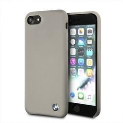 Husa telefon din silicon cu interior din microfibra , tip bumper , Bmw pentru Apple iPhone 7/8 , bej