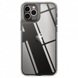 Husa telefon Spigen Quartz Hybrid pentru iPhone 12 Pro / iPhone 12 Crystal Clear