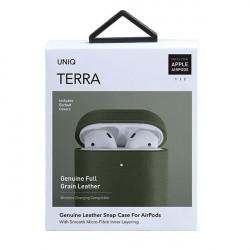 Husa UNIQ Terra Airpods 2/1 - verde