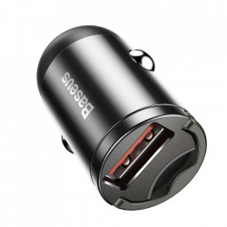 Incarcator auto Baseus Tiny Star Mini Quick Charge USB Port 30W Gray (VCHX-A0G)