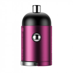Incarcator auto Baseus Tiny Star Mini Quick Charge USB Port 30W Pink
