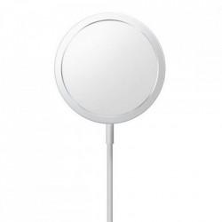 Incarcator Qi fara fir Joyroom de 15 W pentru iPhone (compatibil MagSafe) cu cablu USB tip C incorporat argintiu (JR-A41)