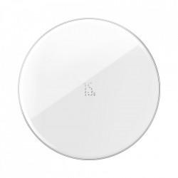 Incarcator wireless Baseus Simple (Updated Version) Qi 15 W black (WXJK-B02)
