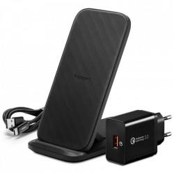 Incarcator wireless Spigen F316w - negru