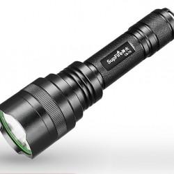 Lanterna Supfire C8-T6 , 1100lm, 200m