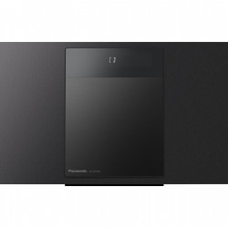 Microsistem audio Panasonic SC-HC410EG-K, 40W, Bluetooth, USB, CD, Negru