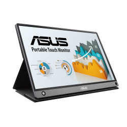 Monitor LED Portabil Asus MB16AMT, 15.6inch, 1920x1080, Dark gray