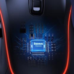 Mouse Gaming Baseus GAMO (9 Butoane programabile) - Negru