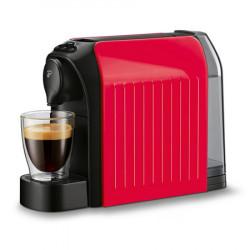 PACHET Espressor Tchibo Cafissimo easy Black + 240 capsule , 1250 W, 3 presiuni, 650 ml, Espresso, Caffe Crema, sertar capsule, Rosu