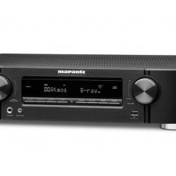 Receiver 7.2 Marantz NR1711, Ultra HD 8K, HEOS, Dolby Atmos, DTS:X, eARC, HEOS, negru