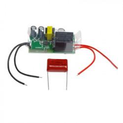 Releu SmartWise 230V single-live-wire (no neutral) 1-gang smart WiFi, compatibil eWeLink / Sonoff