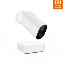 RESIGILAT - Kit Xiaomi Imilab EC2 camera de supraveghere pentru exterior wireless, gateway, compatibil Mi Home EU, senzori IR, IP66, 1080P, versiune EU