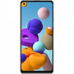 SAMSUNG Galaxy A21s Dual Sim Fizic 128GB LTE 4G Argintiu 4GB RAM