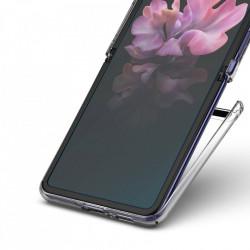 Set 2 folii protectoare Ringke Invisible Defender pentru Samsung Galaxy Z Flip - case friendly (IDSG0009)