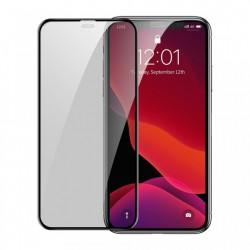 Set 2 folii telefon privacy cu suport special de aplicare, Baseus pentru iPhone 11 / iPhone XR Black (SGAPIPH61S-WC01)