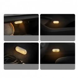 Set 2 x lampa LED auto, interior , Baseus, alb (DGXW-02)