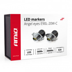 Set 2 x LED marker E90L-20W-C