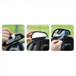 Set 2 x Mini oglinda retrovizoare Baseus , negru (ACFZJ-01)