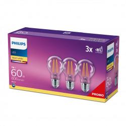 SET 3XBEC LED PHILIPS E27 8718699665081