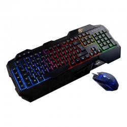 Set tastatura + mouse gaming Havit Gamenote KB558CM