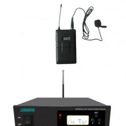 Sistem Microfon Wireless lavaliera pe UHF DSPPA DSP6616A + DSP6626A, Frecventa automata pe infrarosu, 200 canale