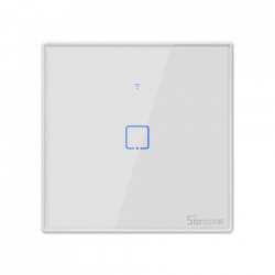 Smart Switch WiFi + RF 433 Sonoff T2 EU TX (1 canal)