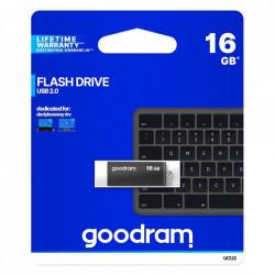 Stick USB Goodram pendrive 16 GB USB 2.0 20 MB/s (rd) - 5 MB/s (wr) flash drive black (UCU2-0320K0R11)