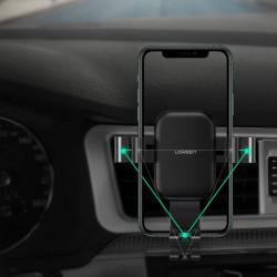 Suport auto cu incarcare wireless Ugreen, negru