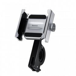 Suport telefon pentru bicicleta din metal , Baseus Knight , gri (CRJBZ-0S)