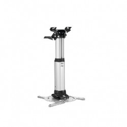 Suport videoproiector Vogels PPC2555 SILVER Professional HEAVY DUTY max 25 kg, reglabil intre 55 si 85 cm