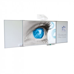 Whiteboard Magnetic Ceramic SMIT 118x189 cm (16:10) Multi surface