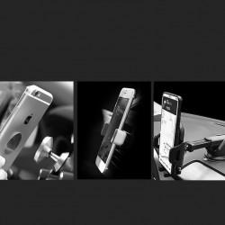 Wozinsky Suport magnetic universal cu prindere in gura aerisire negru (WCH-03)