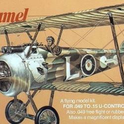 Aeromodel/Planor balsa Sopwith Camel