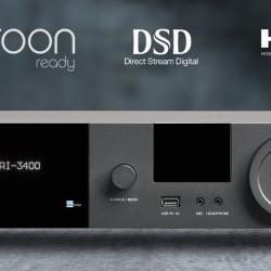 Amplificator stereo Lyngdorf TDAI-3400 400W, cu streaming, Tidal Connect, Roon ready, MQA 24/192k, DSD128, USB 32/384k