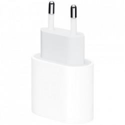 APPLE Incarcator pentru priza EU, USB-C, cu o putere de 20W, Alb