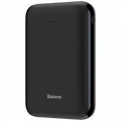 Baterie externa , Baseus Mini JA 10000mAh , 2xUSB, 1xUSB-C PD, 1xMicro USB, 2.1A , negru