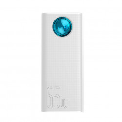 Baterie externa Powerbank Baseus Amblight, 30000mAh, QC 3.0, PD, 3A, 65W (white)
