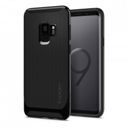 Bumper Spigen Samsung Galaxy S9 Neo Hybrid - Shiny Black