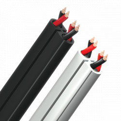 Cablu boxe bulk Audioquest Rocket 11, Negru, vanzare la metru, ROCK11164B