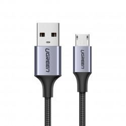 Cablu de date UGREEN USB la micro USB - 2m gri