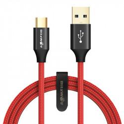 Cablu de date USB tip-C BlitzWolf Ampcore BW-TC10 1.8m - Rosu