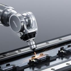 Cablu Joyroom stereo audio AUX cable 3,5 mm mini jack - Lightning pentru iPhone iPad, 2 m black (SY-A02)
