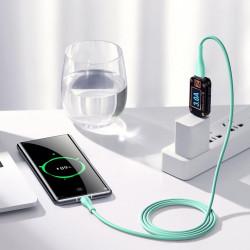 Cablu Joyroom USB - Type C 3 A 1 m alb (S-1030M8)