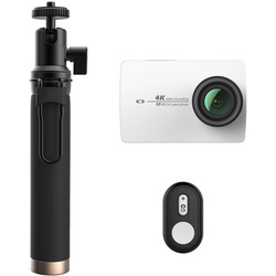 Camera Sport & Outdoor YI 4K Action + Selfiestick Alb